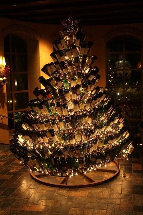 christmas tree alcohol